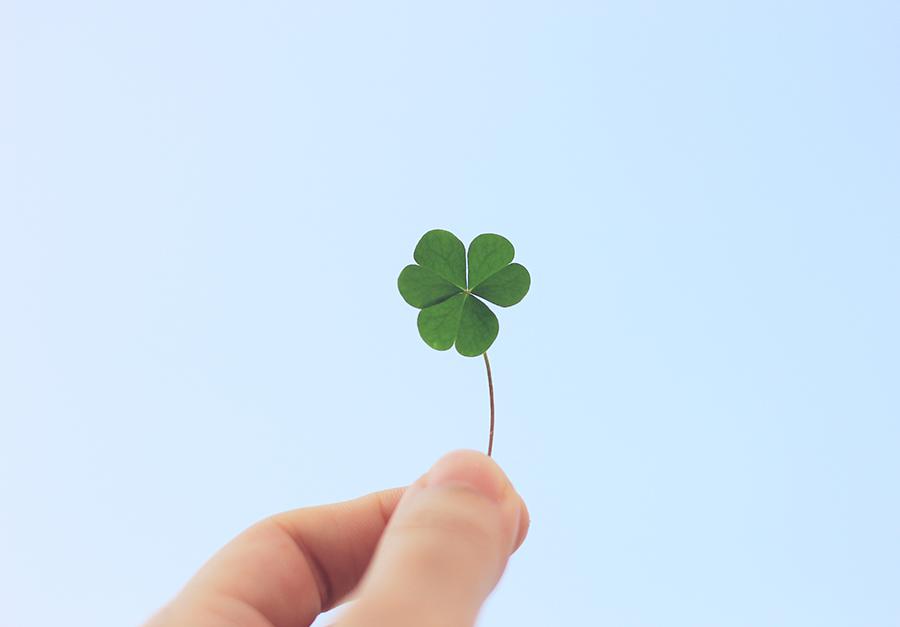 A sorte pode lhe dar muito, mas não conte com ela sempre!